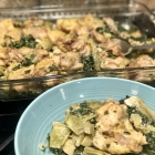 Spinach Artichoke Chicken Bake