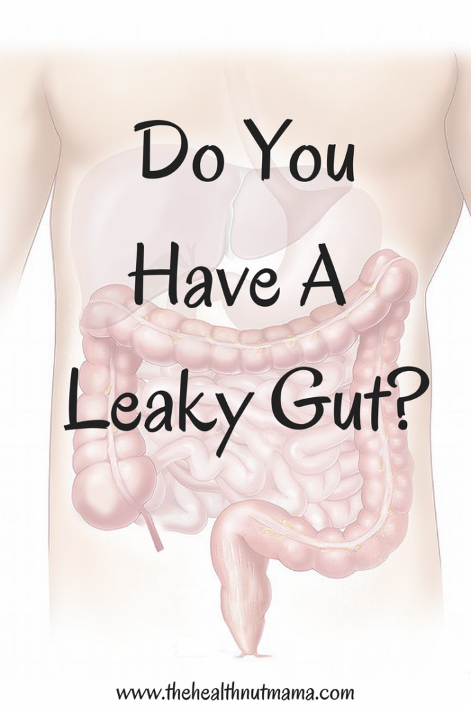 Do you have a Leaky Gut? Find out if you do & what to do about it. www.thehealthnutmama.com