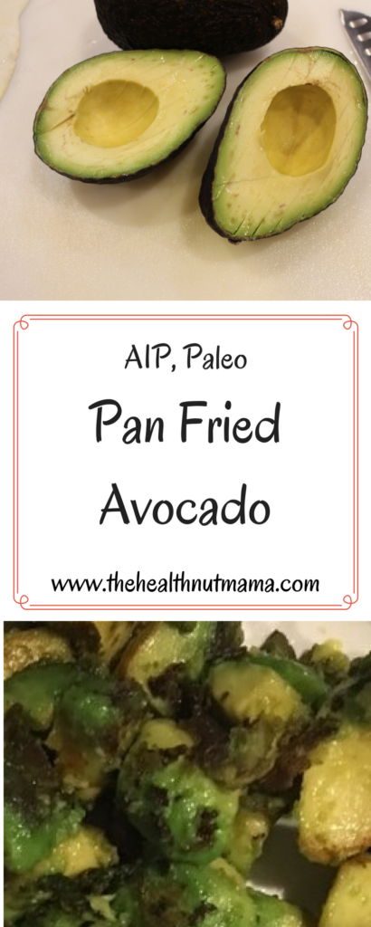 If you haven't tried Fried Avocado, you have to! So quick, easy & delicious! Check it out! Paleo, AIP www.thehealthnutmama.com
