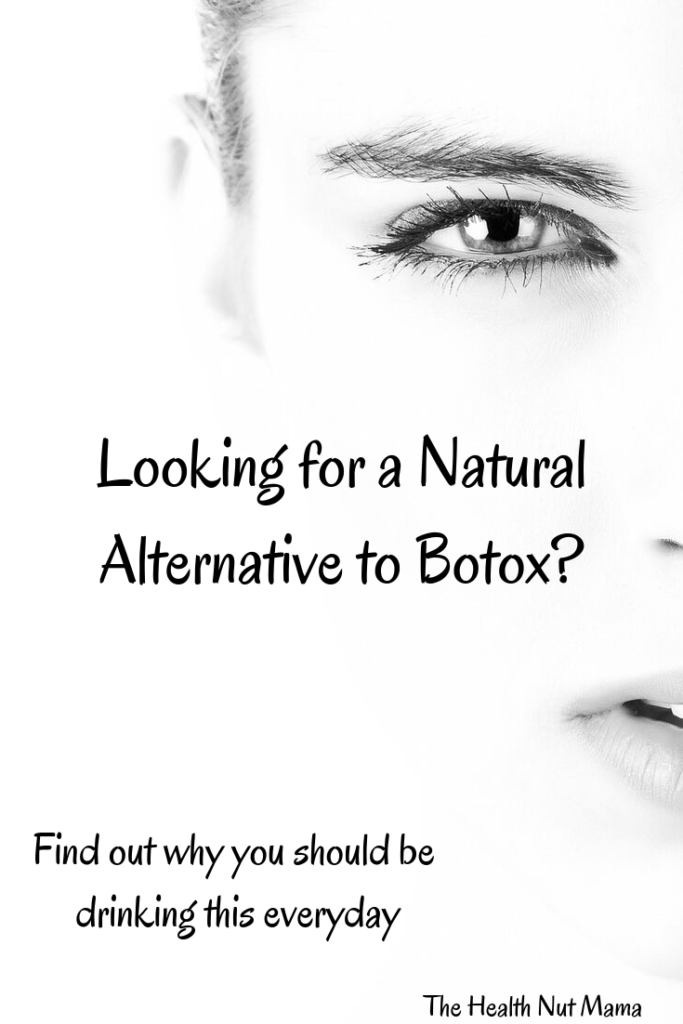 Looking for a natural alternative to Botox? This drink has so many health benefits from anti-aging, reducing cellulite, improving digestion, boosting metabolism, to healing leaky gut. Inexpensive to make & one of the best multivitamins you can take! #aip #paleo #antiaging #naturalalternative #bonebroth #botox #wrinkles #skin #hair #nails #prevent #cellulite #collegan #gelatin #leakygut #gaps #instantpot www.thehealthnutmama.com
