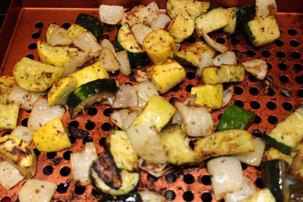 Easy, Quick & Delicious Grilled Zucchini Squash! AIP, Paleo, Vegan, Whole 30 & Keto. Perfect side dish for Summer entertaining! #aip #paleo #veggies #healthyrecipes #sides #vegetables #vegan #whole30 #keto #grilled #grainfree #glutenfree #dairyfree #vegatarian #healthy www.thehealthnutmama.com