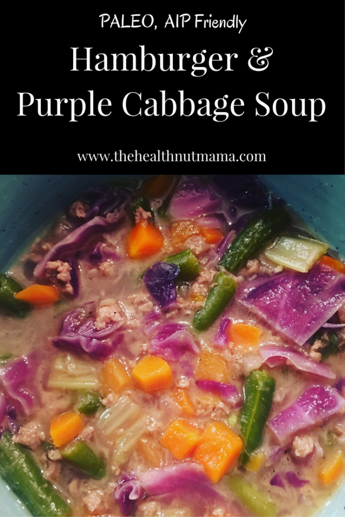 Want a quick & delicious fall soup? This one has it all. Quick, Easy, Nutrient Dense & Pretty! Even your husband can cook itl Mine did! - www.thehealthnutmama.com