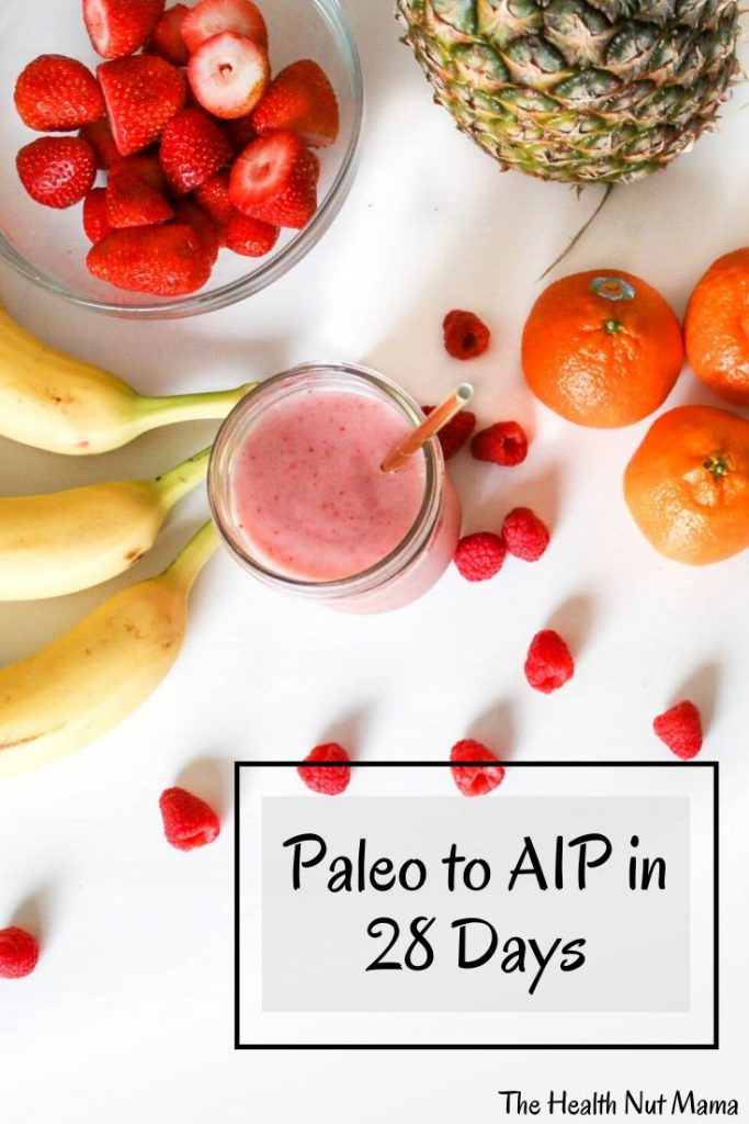 If you are already Paleo & ready to go to the next level of healing your autoimmune disease such as Hashimoto's & Rheumatoid Arthritis etc... then follow these simple steps to reach maximum healing with tips & recipes to make the transition easier. #aip #paleo #aippaleo #aipprotocol #autoimmune #autoimmunedisease #diet #aipdiet #paleodiet #hashimotos #rhuematoidarthritis #sjrogrens #thehealthnutmama