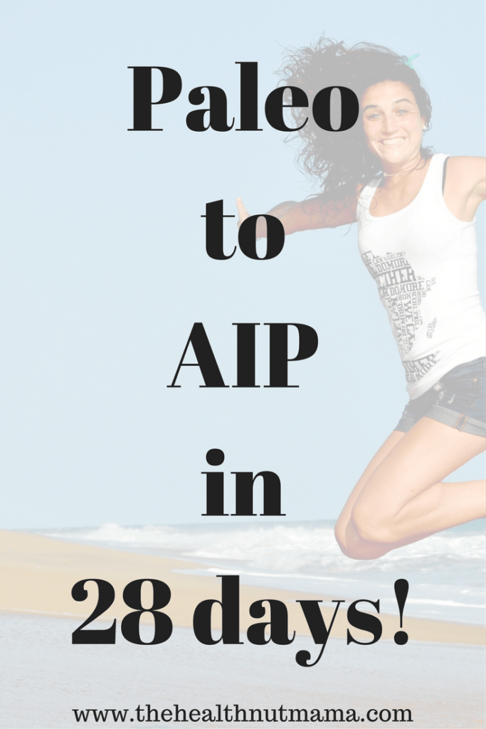 AIP is how I reversed 2 of 3 of my autoimmune dieseaes. If you are already Paleo & have an autoimmune disease & still not feeling 100%, then AIP is the diet for you. www.thehealthnutmama.com