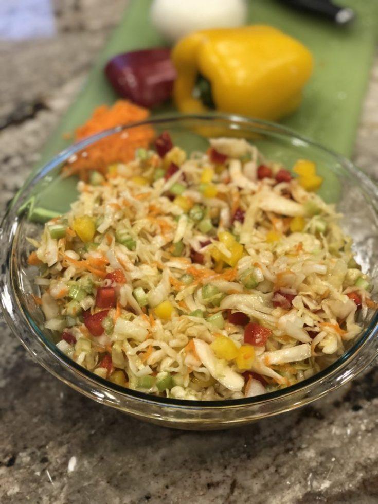 Paleo Sauerkraut Salad