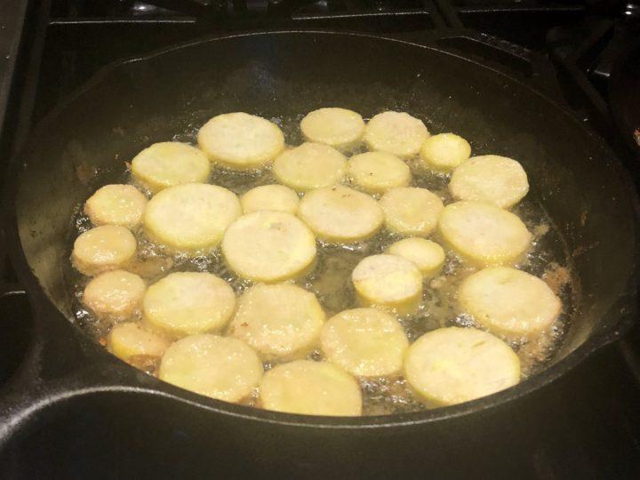 Paleo Fried Squash