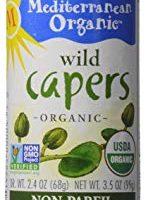 Mediterranean Organic Capers, 3.5 oz