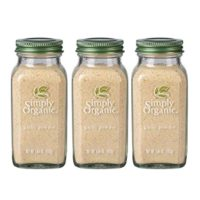 Simply Organic Ground Garlic | Certified Organic | 3.64 oz. (3 Pack)
