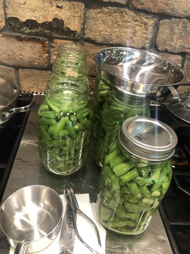 How to Can Green Beans for Long Term Storage. A great way to preserve Green Beans all year long without freezer burn. It's way easier than you think! #canning #howtocangreenbeans #howtocan #preservingfood #aipsides #paleosides #whole30 #paleo #aip #keto #lowcarb #vegan #prepper #thehealthnutmama