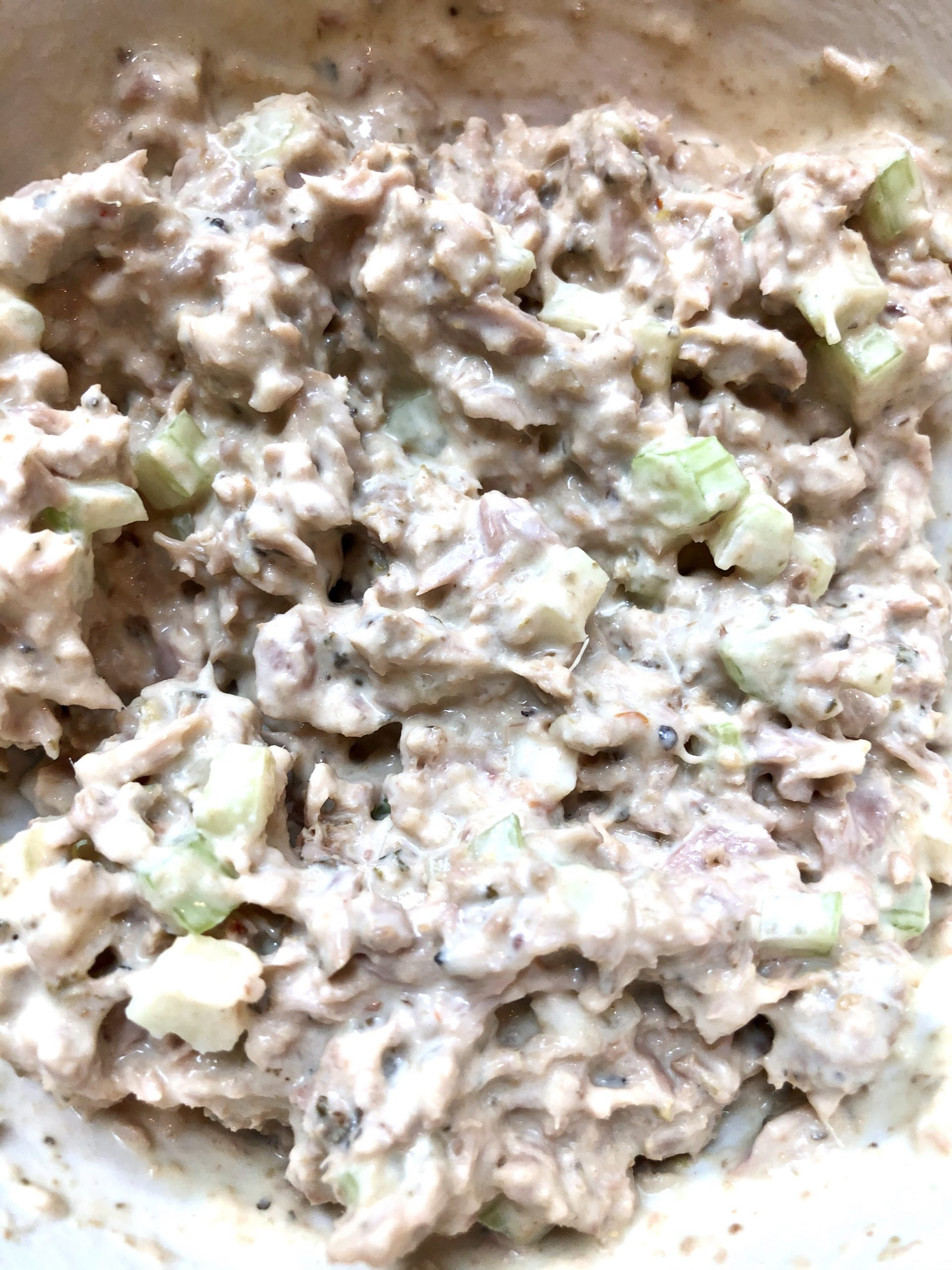 This Paleo Keto Tuna Salad Slider Appetizer is perfect for entertaining or just a quick snack. So easy to make & kids will love helping. It is AIP friendly, Whole 30, Lowcarb, & Keto. #paleo #keto #lowcarb #lowcarbsnack #ketosnack #appetizer #paleosnack #paleoappetizer #ketoappetizer #snack #whole30 #bubbiespickles #probiotic #tunasalad #sliders #thehealthnutmama